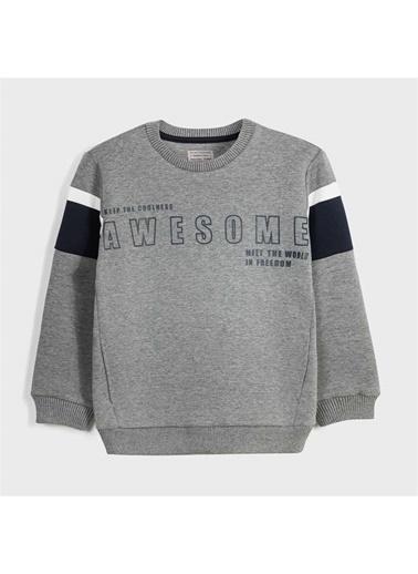 Mayoral Mayoral Erkek Çocuk SweaT-shirt Gri